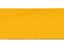 Tassen band PP 30mm Geel