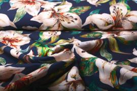 Suba Crepe Orchidee Marine