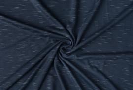 Viscose Slub Jeans Blauw (Melange)