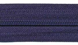 Rits op rol Nylon Donker blauw 3mm