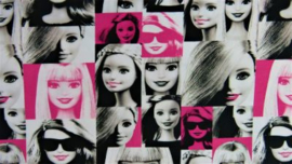 Tricot Barbie vogue (Mattel)