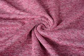 Gebreide Fleece Poeder Roze