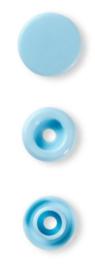 Drukknop Colorsnap prym  licht blauw 12 mm