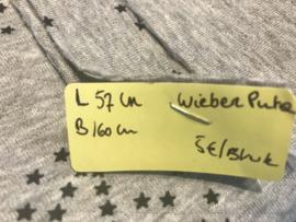 tricot wieber grijs ster L57 B160