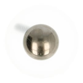 Studs tassenvoet rond 22mm splitpennen nikkel