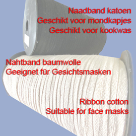 Naadband - Keperlint 4mm