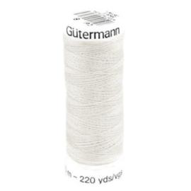 Gütermann 200m Zilver grijs (008)