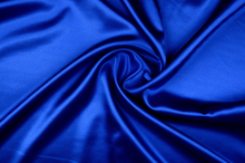 Satijn Koningsblauw
