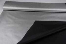 verduisteringsstof Zwart / Zilver