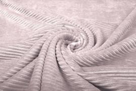Katoen corduroy  - Poeder roze (stretch)