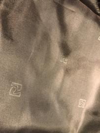 Voering (glans met motief) donker bruinL 60 B 140