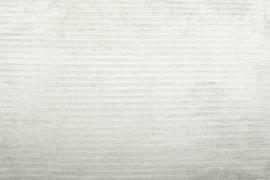 Katoen corduroy  - Rib Creme (stretch)