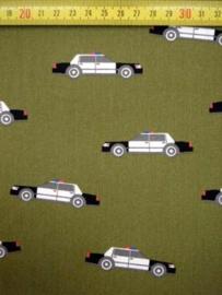 Katoen Camouflage politie auto