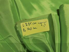 Voering (glans) Lime groen L 285 B 140