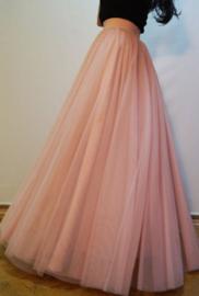 Bruidstule oud roze