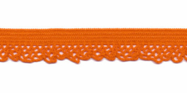 Elastische kant oranje (12 mm)