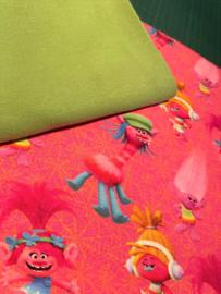 Setje 7 Trolls groen (Mattel)