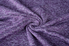 Gebreide Fleece Lila
