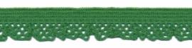 Elastische kant groen (12 mm)
