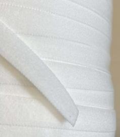 Lingerie elastiek met rand 8 mm gebroken wit