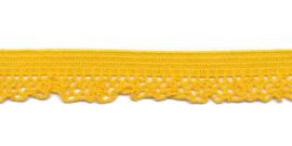 Elastische kant geel (12 mm)