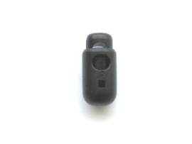 Koordstopper zwart (2cm - 5mm)