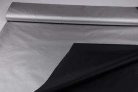 Verduisteringstof zilver zwart L 85 B 150