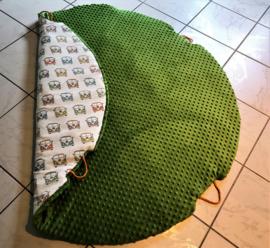 Minky Fleece Lime groen