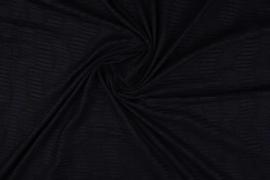 Suede plissée structuur zwart