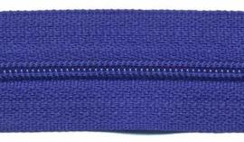 Rits op rol Nylon Kobalt blauw 3mm