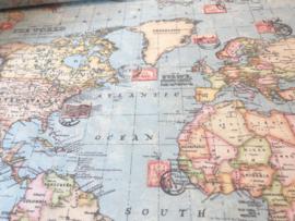 Canvas wereldkaart (swafing)