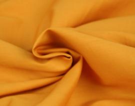 Katoen (Poplin) Oker geel