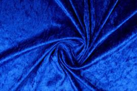 Velours de Panne Koningsblauw