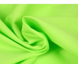 Katoen (Poplin) Lime groen