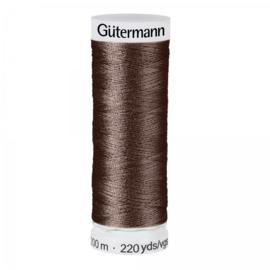 Gütermann 200m Donker bruin (023)