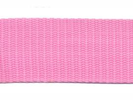 Tassen band PP 30mm Roze