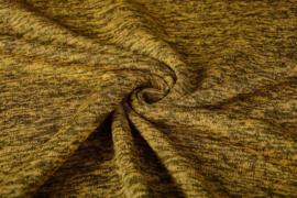 Gebreide Fleece Geel