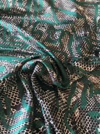 Satijn slang groen