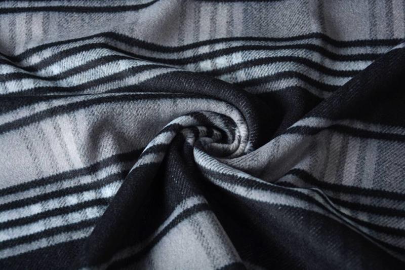 Mantel Ruit zwart grijs