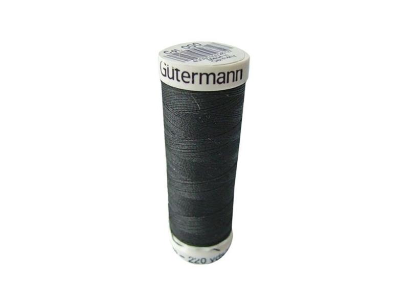 Gütermann 200m Zwart (000)