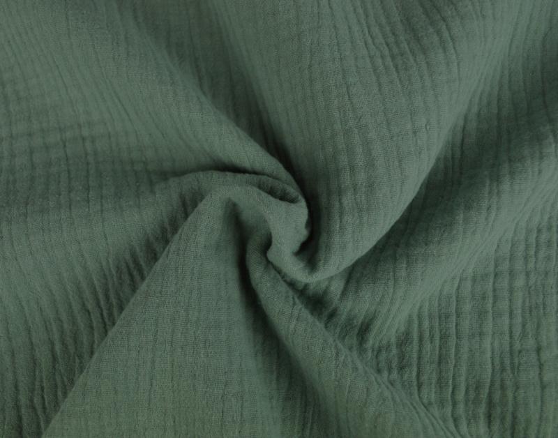 Hydrofiel / double gauze oud groen