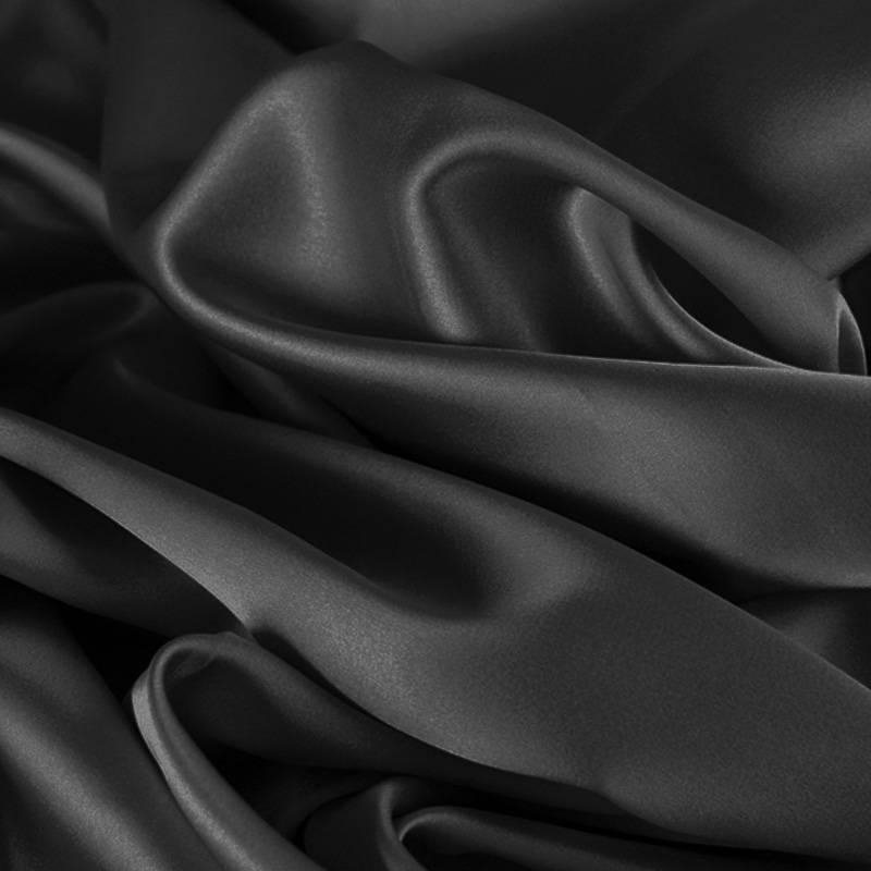 Satijn Donker grijs (zware kwaliteit)