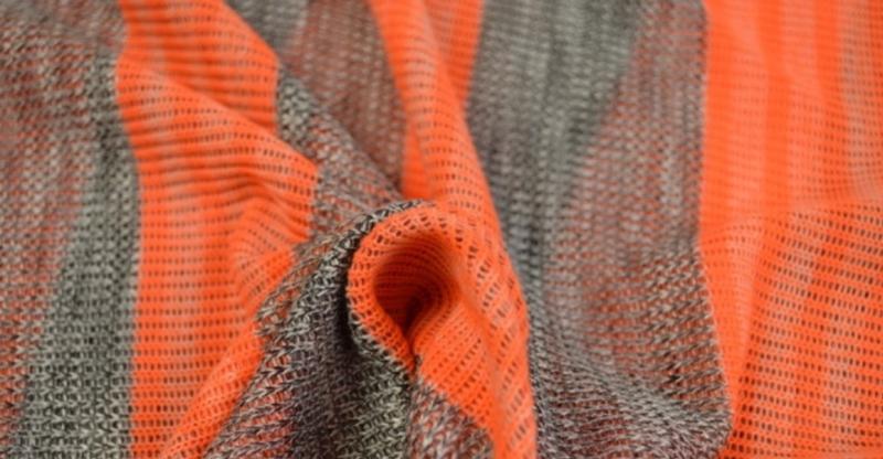 Jersey strepen oranje Fluo