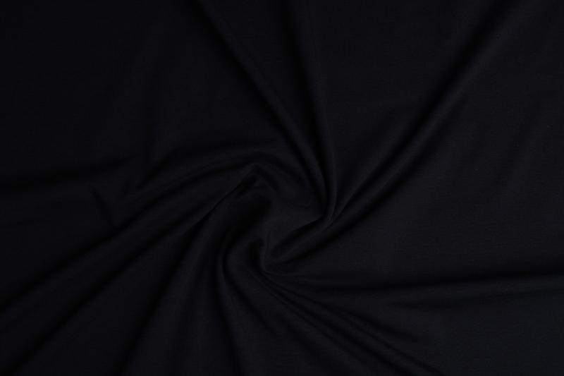 Tricot uni Zwart