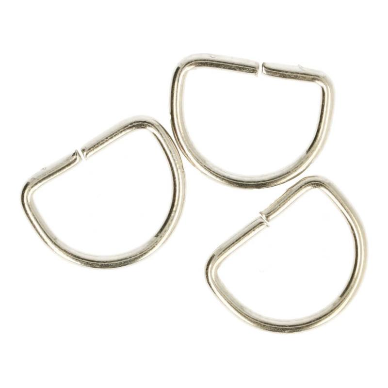 D-ringen 20 mm nikkel