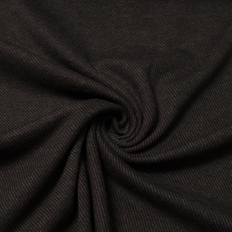 Keper tricot Pisa zwart (Swafing)