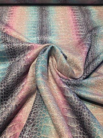 Unieke Glitter Jersey slang