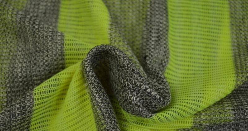 Jersey strepen geel Fluo