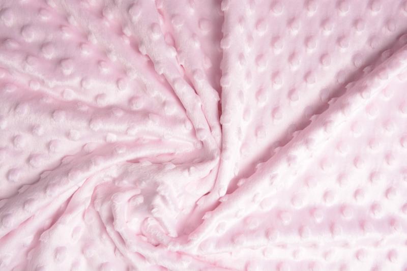 Minky Fleece Licht Roze