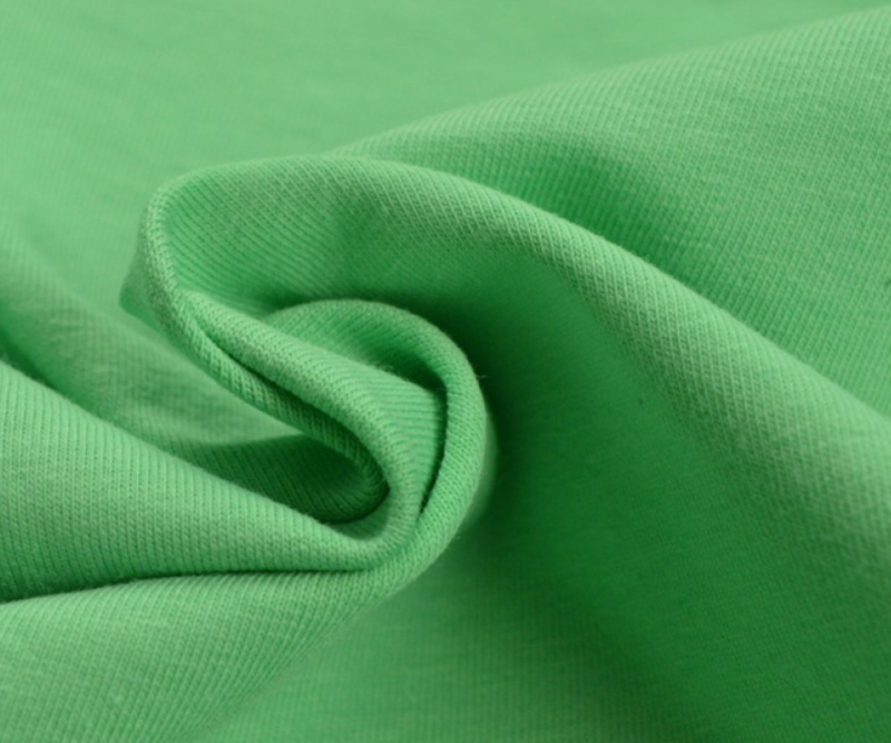Tricot uni Groen